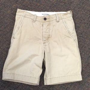 Abercrombie Tan Shorts